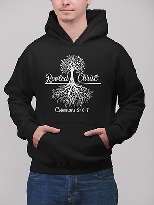 Rooted In Christ Hoodie - Favor of The L