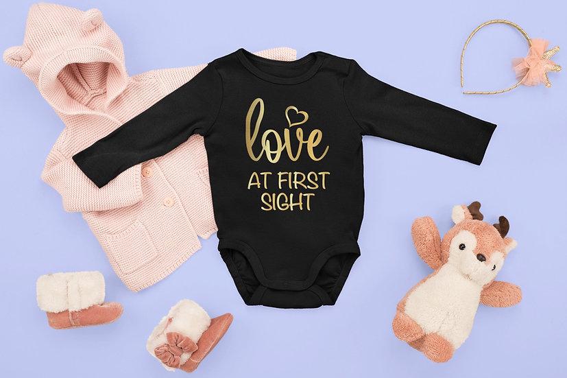 LoveAt First Sight - Baby Onesie