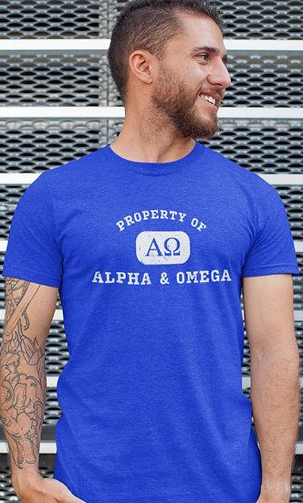 Property of ALPHA & OMEGA