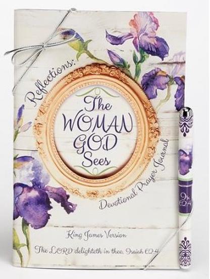 The Woman God Sees, Prayer Journal and Pen Gift Set, KJV