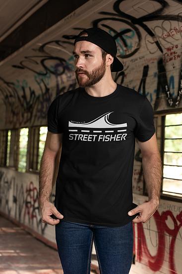 Set Free Ministries - STREET FISHER T-SHIRT