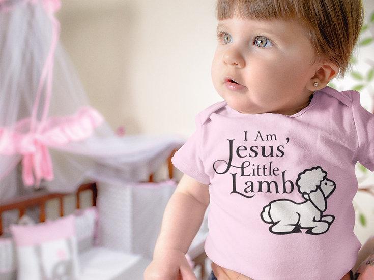 I Am Jesus' Little Lamb - Baby Onesie
