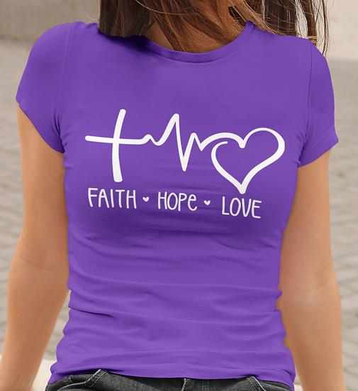 Faith 🖤 Hope 🖤 Love