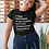 Thumbnail: I Am: Chosen, Valuable, Loved, Forgiven, Capable -  T-Shirt