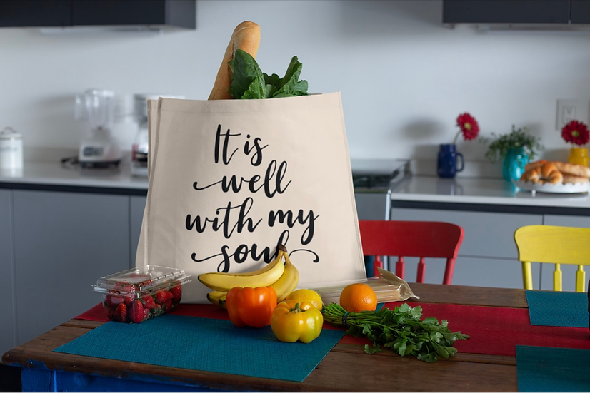 It Is Well With My Soul - Tote Bag