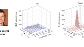 Prof. Urazhdin & collaborators solve the long-standing problem of nonlinear damping in magnetic film
