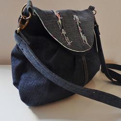Denim Cross Body Bag