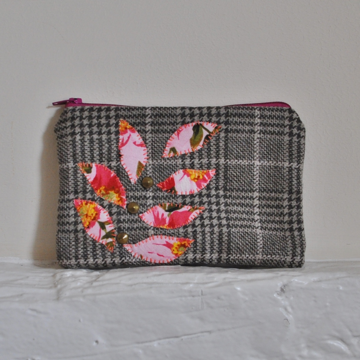 Wool Flower Petal Purse