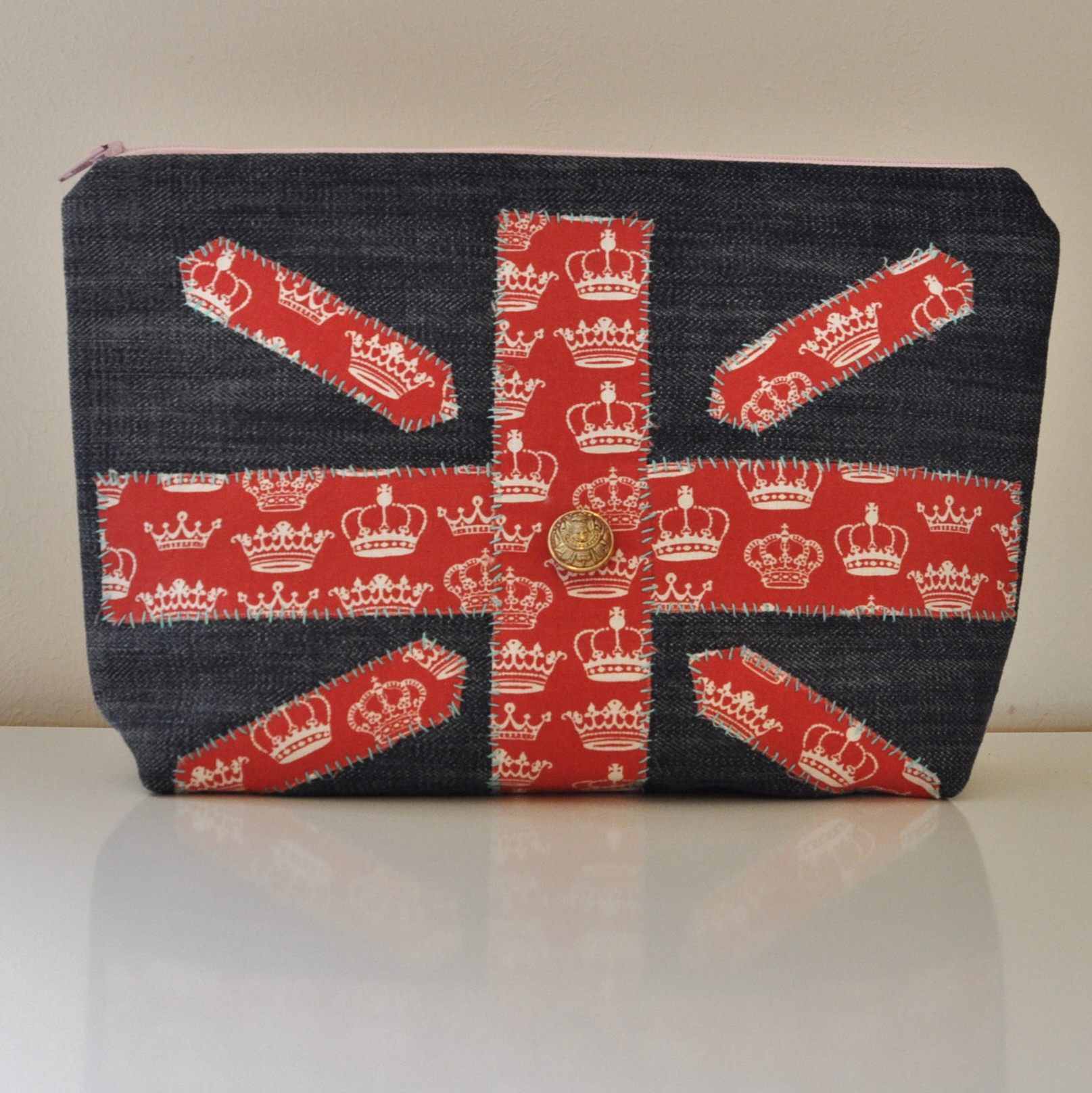 Large Union Jack Purse