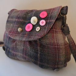 Wool Cross Body Bag