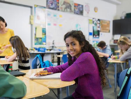 Räume in einer Schule mit Ganztagsangeboten