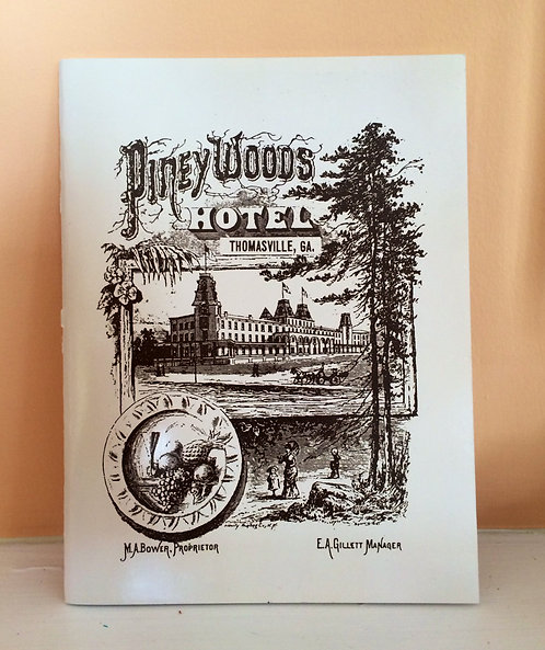 Pineywoods Hotel Booklet