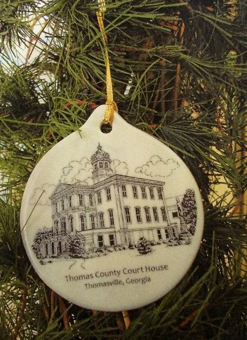 Thomas County Courthouse Ornament