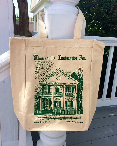 Hardy Bryan House Canvas Tote