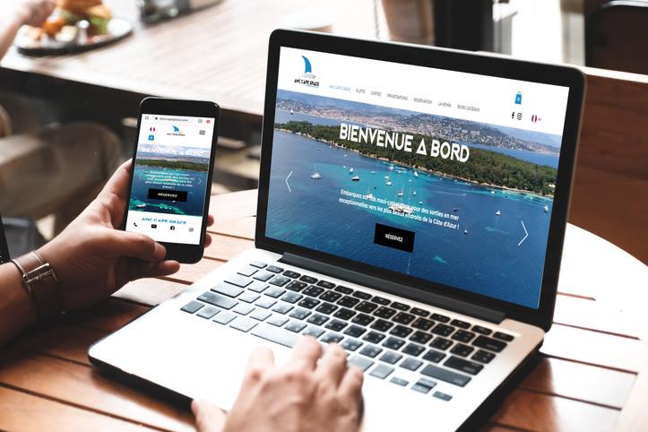 AMC CAPE GRACE - Refonte Site Internet & E-commerce