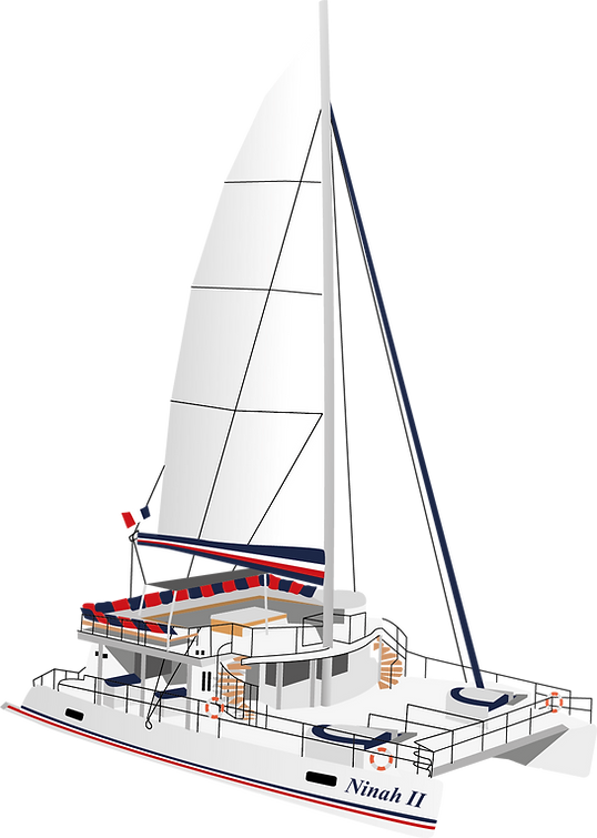 Catamaran Ninah II AMC CAPE GRACE