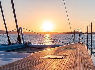 Sortie en mer coucher de soleil Saint-Raphaël
