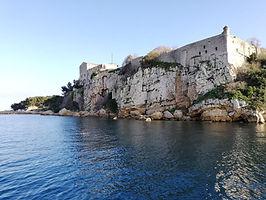 Le fort royale de l'île Sainte-Marguerite à Cannes