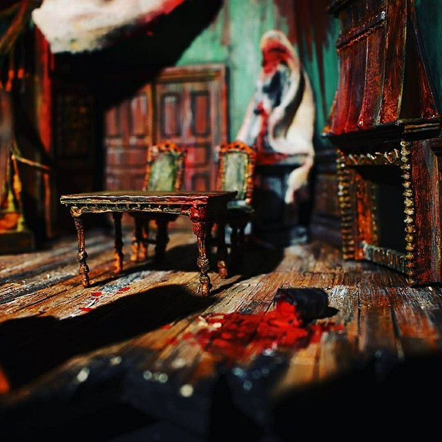 Act 1 in The Model Box.