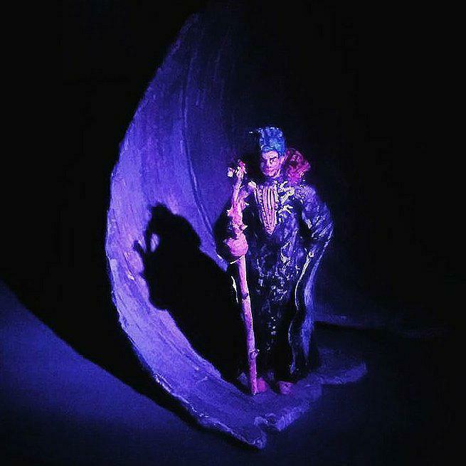 Prospero in His Cave.
