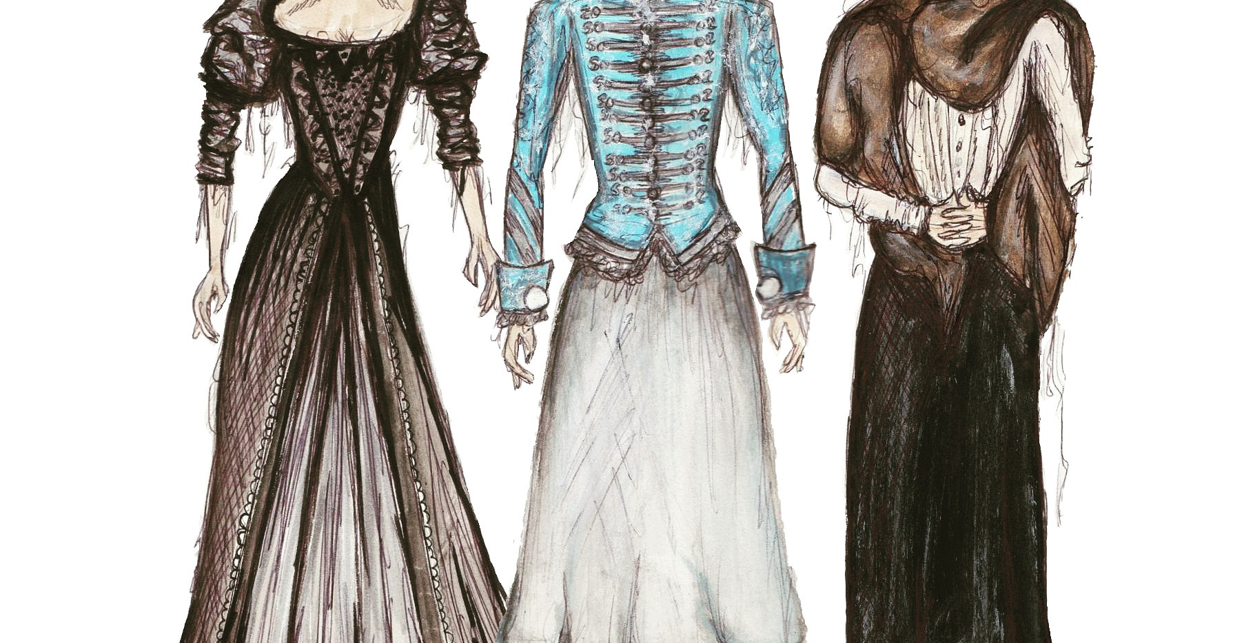 Costume Designs for Countess Geschwitz.