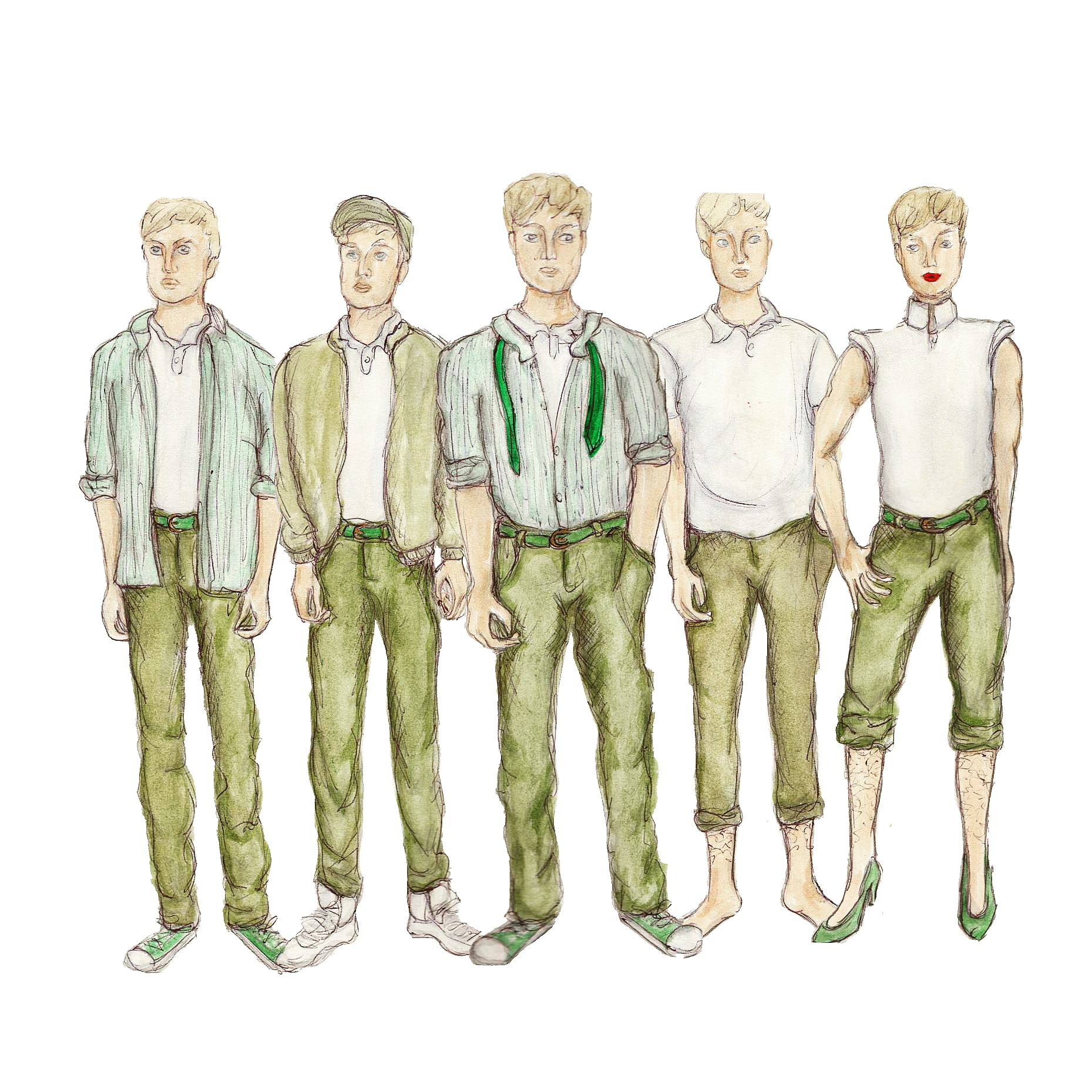 'Revolt' Costume Designs