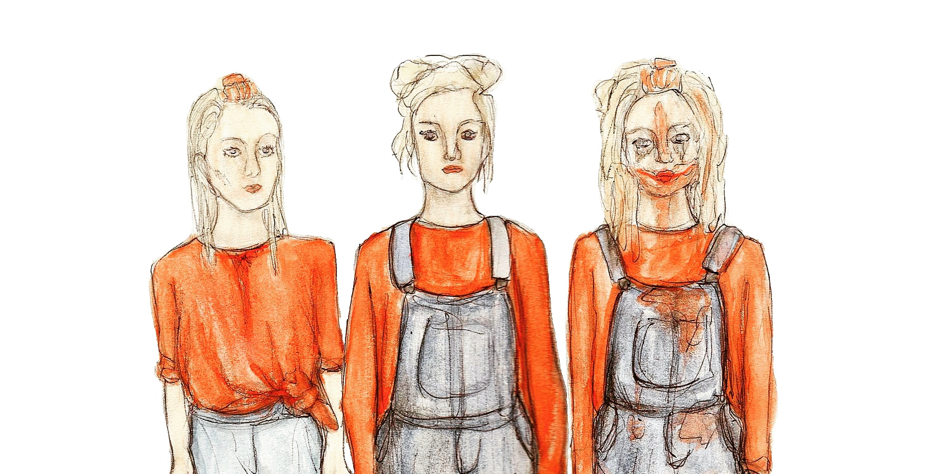 Costume Designs for Lissie Minnit.