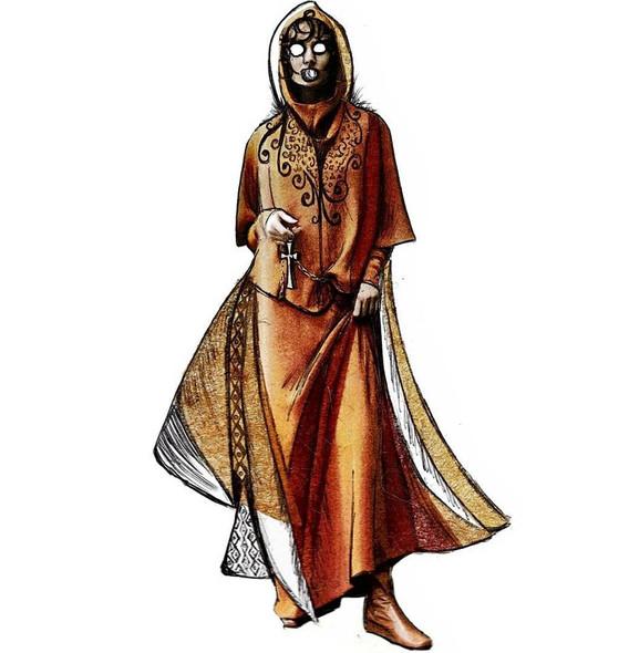 Costume Design for Antonia.