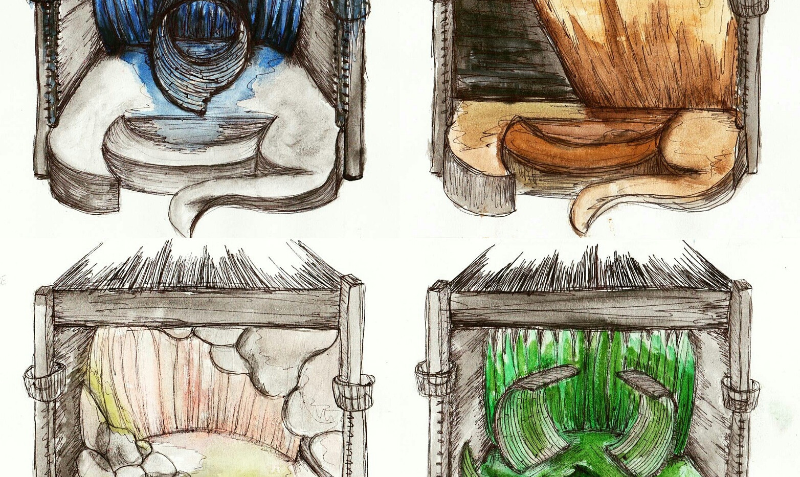 Illustrated Storyboard Part One.