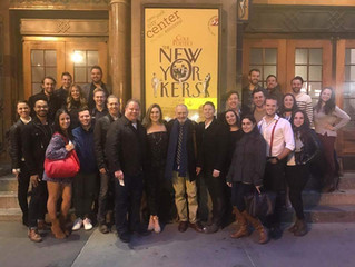 Invited Dress Run of The New Yorkers at Encores!