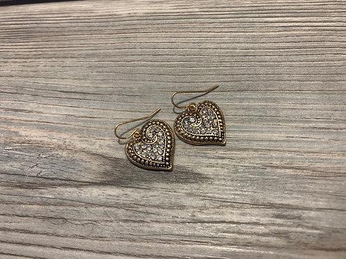 Heart Estate Earring