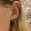 Thumbnail: Druzy Palm Tree Earring