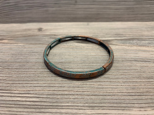 Starfish Etched Bracelet