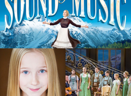 Georgie-May in The Sound of Music UK Tour 2020