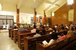 English service congregation