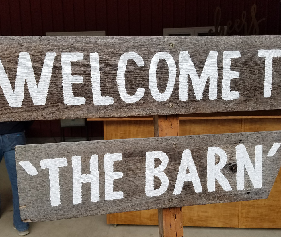 welcome to the barn