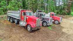 Brothers Excavation - Trucks Lined