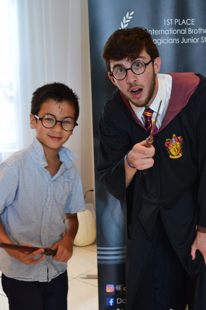 Harry Potter and his apprentice.