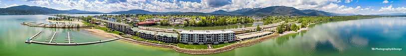 The Seasons at Sandpoint | Sandpoint Aerial Photography | 7B-Photography