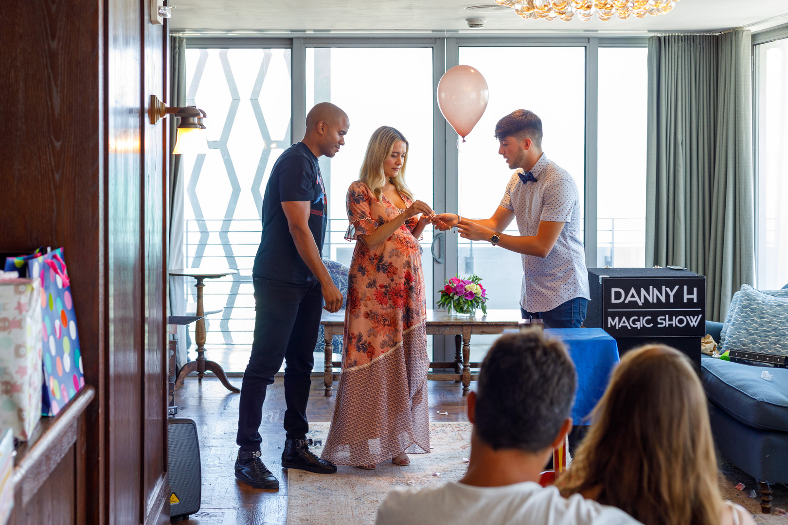 Danny performing for Gabrielle & Sanford's baby shower!