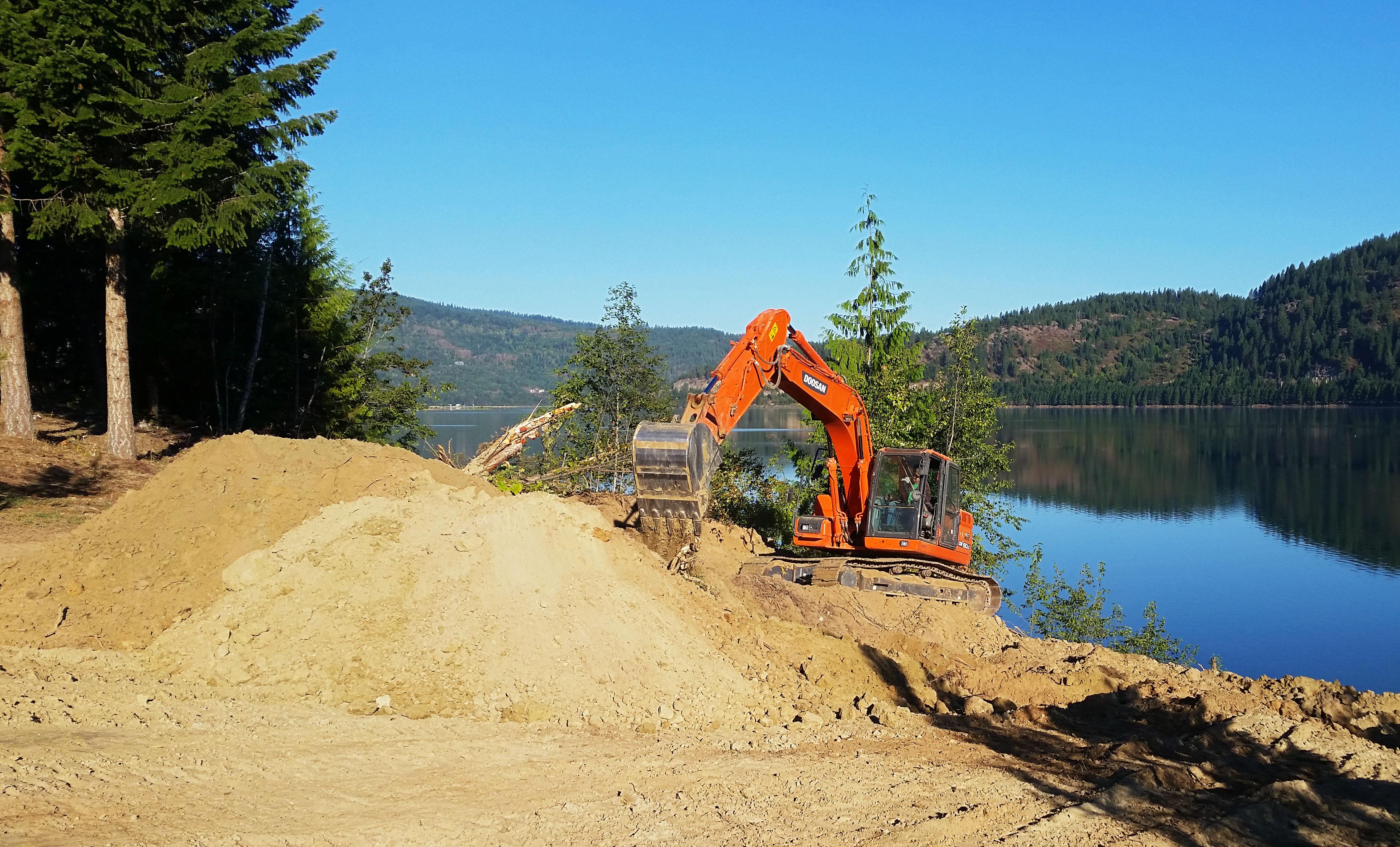 Brothers Excavation - Lake