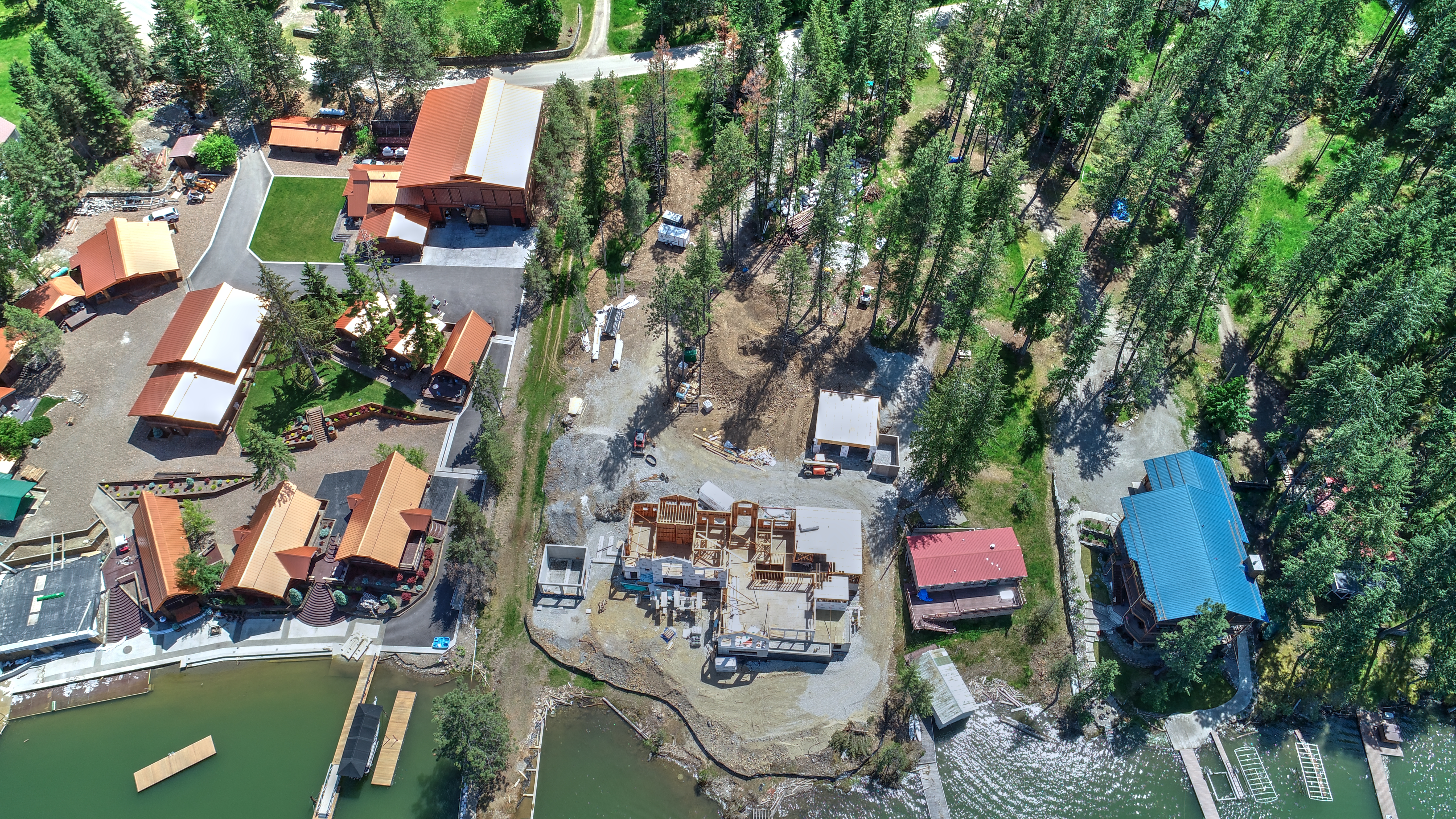 Brothers Excavation - Red Fir Aerial