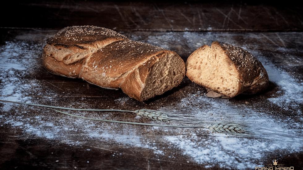 Pane di rimacinato (grano siciliano) -  Filoni