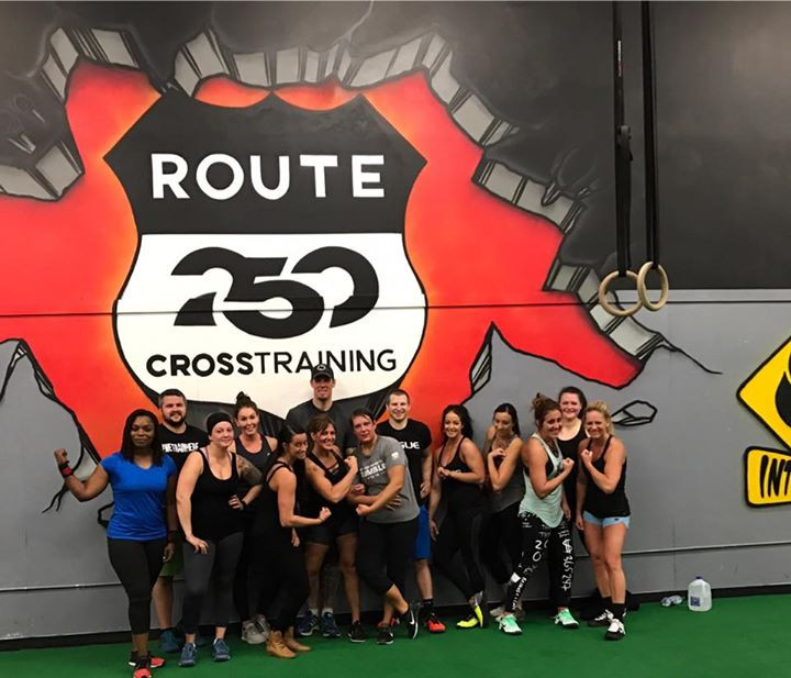 Picture of cross training in New Philadelphia, OH.