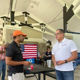 September 11, 2021: Forsyth County Democrats Picnic