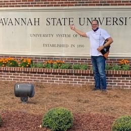 Savannah State University Campus Entrance Sign with John Eaves.jpg