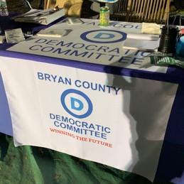 Bryan County Dems Table.jpg