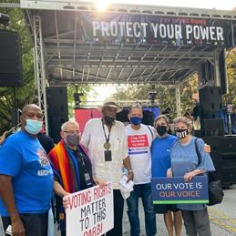 August 28, 2021: March on Atlanta