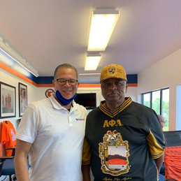 Savannah State University with Chatham County Chair Chester Ellis.jpg