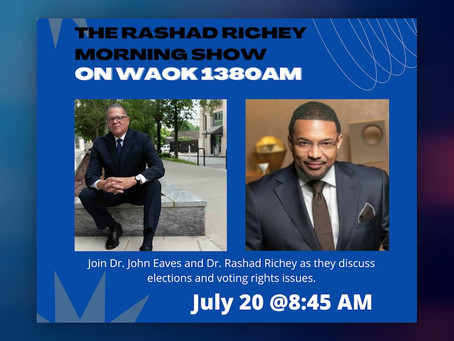 Interview with The Rashad Richey Morning Show